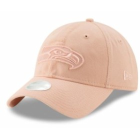 buy online 4e6ae 48365 New Era ニュー エラ スポーツ用品 New Era Seattle Seahawks Womens Light Pink Core  Classic Fashion