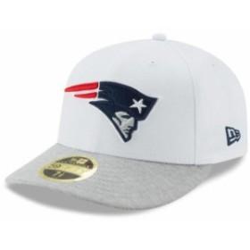 New Era ニュー エラ スポーツ用品  New Era New England Patriots White/Heathered Gray Tech Sweep Low Profile 59FIFTY Fi
