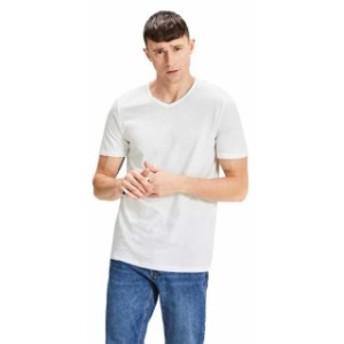 jack---jones ジャック & ジョーンズ ファッション 男性用ウェア Tシャツ jack-&-jones jacbasic-v-neck-2-pack