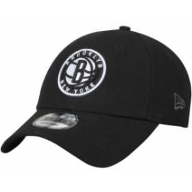 New Era ニュー エラ スポーツ用品  New Era Brooklyn Nets Black Official Team Color 9FORTY Adjustable Hat