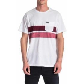 rip-curl リップ カール ファッション 男性用ウェア Tシャツ rip-curl stripey-slub
