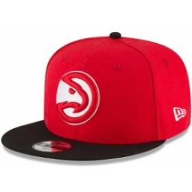 New Era ニュー エラ スポーツ用品  New Era Atlanta Hawks Youth Red/Black Two-Tone 9FIFTY Snapback Adjustable Hat