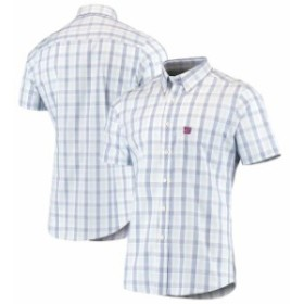 Antigua アンティグア シャツ ポロシャツ Antigua New York Giants Royal Woven Button-Down Shirt