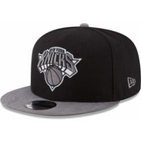 New Era ニュー エラ スポーツ用品  New Era New York Knicks Black/Gray Tonal Choice 9FIFTY Adjustable Hat