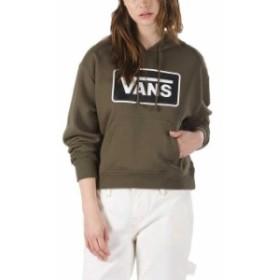 vans バン ファッション 女性用ウェア パーカー vans boom-boom-hooded