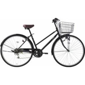 キャッシュレス5%還元 自転車 シティ車 フルート276 サイクルスポットオリジナル 6段変速