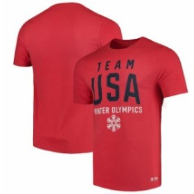 Outerstuff アウタースタッフ スポーツ用品  Team USA Red Olympics in Mountain T-Shirt