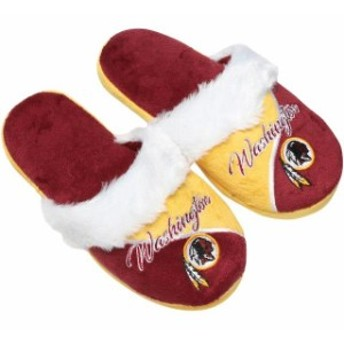 Forever Collectibles フォーエバー コレクティブル シューズ スリッパ Washington Redskins Womens Cursive Color