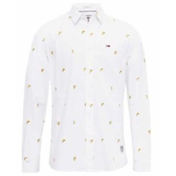 tommy-jeans トミー ジーンズ ファッション 男性用ウェア シャツ tommy-hilfiger fruit-print