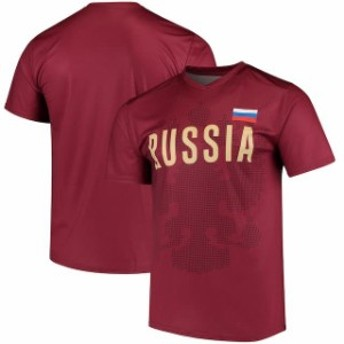 Outerstuff アウタースタッフ スポーツ用品 Russia National Team Red Federation T-Shirt