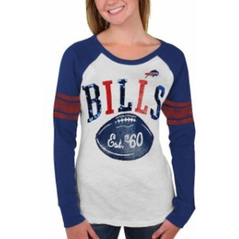 G-III 4Her by Carl Banks ジースリー フォーハー バイ カール バンクス スポーツ用品 Buffalo Bills Royal B