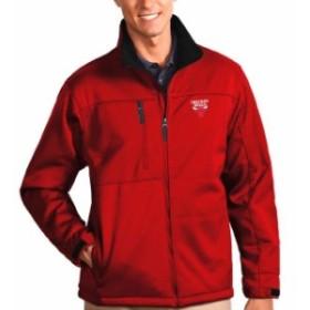 Antigua アンティグア スポーツ用品  Antigua Chicago Bulls Red Traverse Full Zip Bonded Jacket