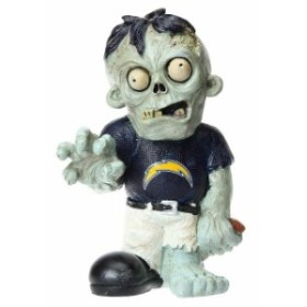 Forever Collectibles フォーエバー コレクティブル スポーツ用品  Los Angeles Chargers Resin Zombie Figurine