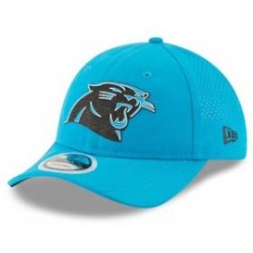 New Era ニュー エラ スポーツ用品  New Era Carolina Panthers Youth Blue 2018 Training Camp Primary 9TWENTY Adjustable