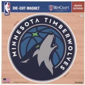 WinCraft ウィンクラフト スポーツ用品  Minnesota Timberwolves 12 x 12 Car Magnet