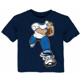 Outerstuff アウタースタッフ スポーツ用品 Los Angeles Chargers Toddler Navy Yard Rush T-Shirt