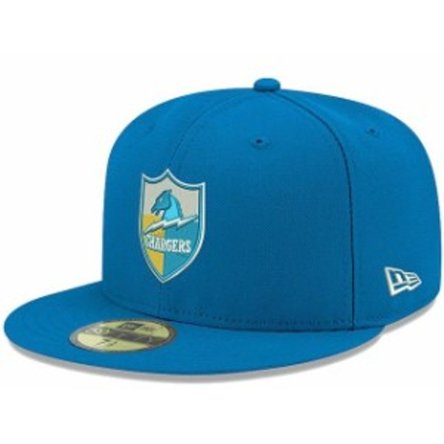 New Era ニュー エラ スポーツ用品  New Era Los Angeles Chargers Powder Blue Omaha Throwback 59FIFTY Fitted Hat