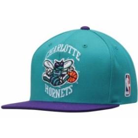 Mitchell & Ness ミッチェル アンド ネス スポーツ用品  Mitchell & Ness Charlotte Hornets Teal XL Logo Snapback Adj