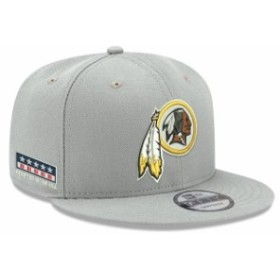 New Era ニュー エラ 帽子 キャップ New Era Washington Redskins Gray Crafted in the USA 9FIFTY Adjustable Hat