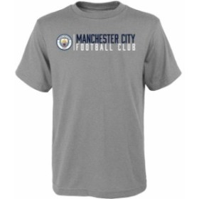 Outerstuff アウタースタッフ スポーツ用品  Mitchell & Ness Manchester City Youth Heather Gray Across The Field T-Sh