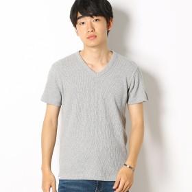 [マルイ]【セール】EDWIN ワッフル Vネック Tシャツ 半袖/エドウィン(メンズ)(EDWIN)