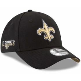 New Era ニュー エラ スポーツ用品  New Era New Orleans Saints Black Team Slogan League 9FORTY Adjustable Hat