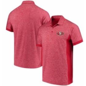 Antigua アンティグア シャツ ポロシャツ Antigua San Francisco 49ers Scarlet Talent Polo