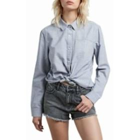 volcom ボルコム ファッション 女性用ウェア ブラウスやシャツ volcom cham-stripe