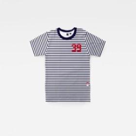 gstar ジースター ファッション 男性用ウェア Tシャツ gstar 06-slim-round-neck