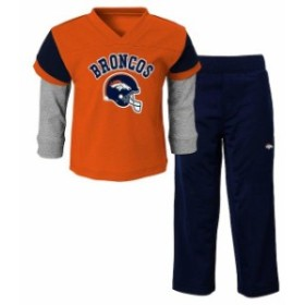 Outerstuff アウタースタッフ スポーツ用品  Denver Broncos Toddler Orange Charger T-Shirt and Pant Set