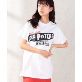 (And A/And A)SEX PISTOLS/セックスピストルズ Filthy Lucre Live 勝手に来やがれ 半袖プリントTシャツ THE TEE/ザ・ティー/レディース ホワイト