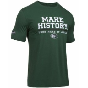 Under Armour アンダー アーマー スポーツ用品  Under Armour New York Jets Green NFL Combine Authentic Make History P
