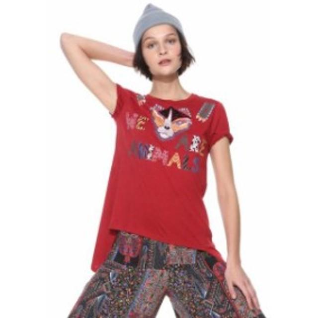 desigual デシグアル ファッション 女性用ウェア Tシャツ desigual tris