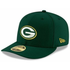 New Era ニュー エラ スポーツ用品  New Era Green Bay Packers Green Omaha Low Profile 59FIFTY Structured Hat