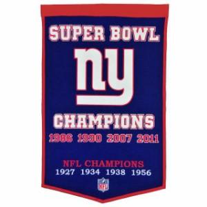 ストリーク New York Giants 20 x 18 Jersey Traditions Banner スポーツ スポーツ用品 Winning Streak Sports ウイニング