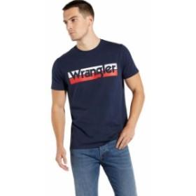 wrangler ラングラー ファッション 男性用ウェア Tシャツ wrangler box-logo