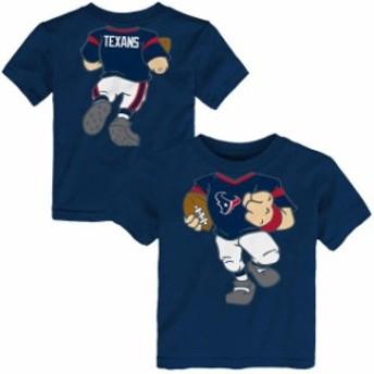 Outerstuff アウタースタッフ スポーツ用品 Houston Texans Navy Team Logo Football Dreams T-Shirt