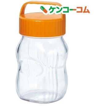漬け上手 フルーツシロップびん 日本製 オレンジ 1000ml I-77862-OR-A-JAN-S ( 1個 )