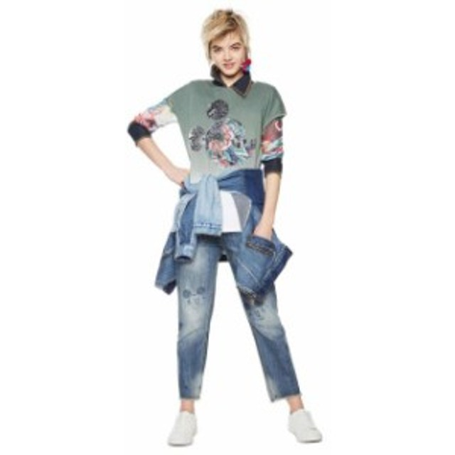 desigual デシグアル ファッション 女性用ウェア Tシャツ desigual moonlight-sonata