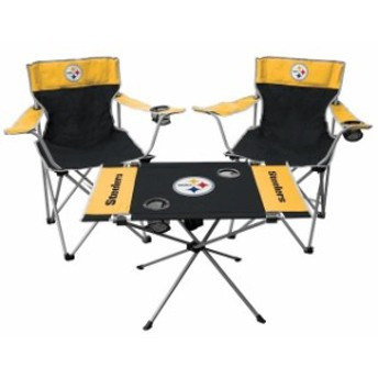 Rawlings ローリングス スポーツ用品 Rawlings Pittsburgh Steelers Tailgate Chair And Table Set