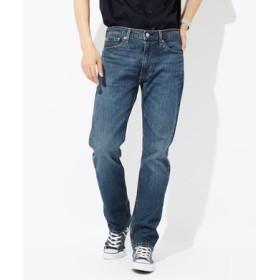 Levi's 「513」スリムストレートデニムパンツ メンズ 濃加工色