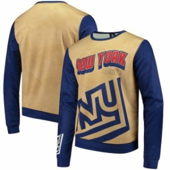 Forever Collectibles フォーエバー コレクティブル 服 スウェット New York Giants Gold Retro Sublimated Sweater