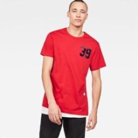 gstar ジースター ファッション 男性用ウェア Tシャツ gstar 09-round-neck