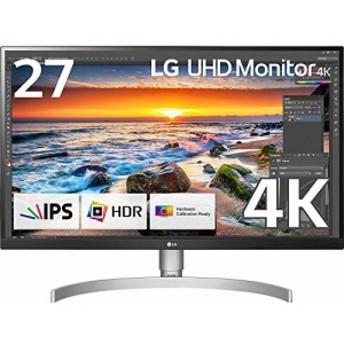 新品 LG モニター ディスプレイ 27UK850-W 27インチ/4K/HDR対応/IPS非光沢/USB-Type-C、HDMI×2、Display