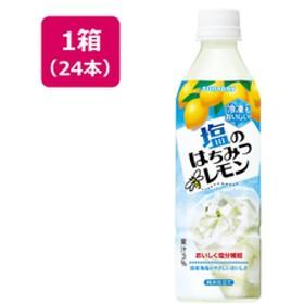 シヤチハタ塩のはちみつレモン(冷凍兼用) 490ml×24本F324917-FHS5L