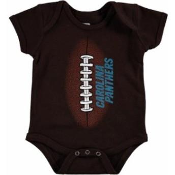 Outerstuff アウタースタッフ スポーツ用品 Carolina Panthers Newborn Brown Mini Football Bodysuit