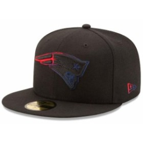 New Era ニュー エラ スポーツ用品  New Era New England Patriots Black Color Dim 59FIFTY Fitted Hat