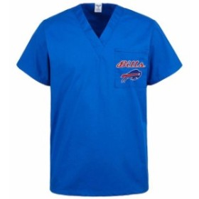Concepts Sport コンセプト スポーツ スポーツ用品  Concepts Sport Buffalo Bills Womens Royal Scrub Top