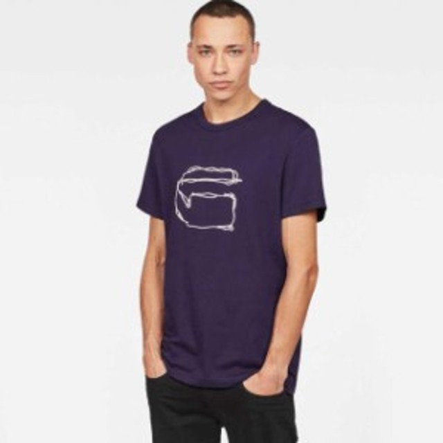 gstar ジースター ファッション 男性用ウェア Tシャツ gstar monthon-r-t