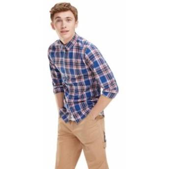 tommy-jeans トミー ジーンズ ファッション 男性用ウェア シャツ tommy-hilfiger windowpane-check